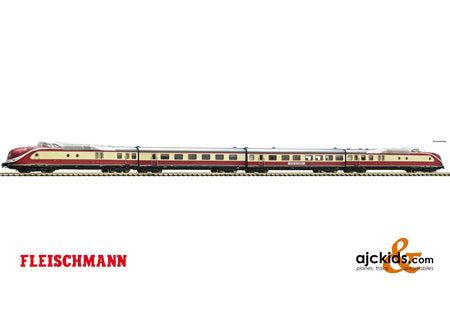 Fleischmann 741085 - 4 piece set: Diesel multiple unit class 601
