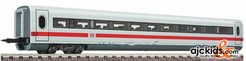 Fleischmann 7494 ICE 2-Coach with traffic red stripe, 2nd Class with children's compartment, type 806.0 of the