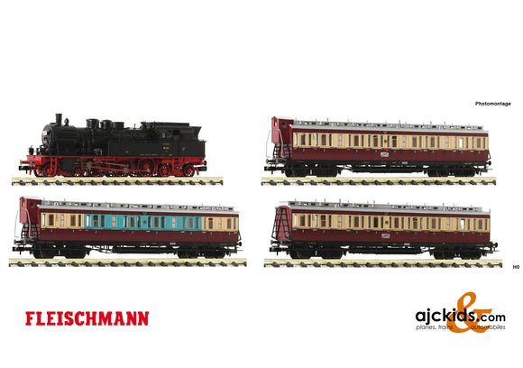 Fleischmann 781209 - 4 piece set: Fast traffic