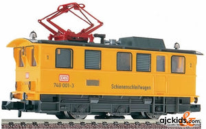 "Fleischmann 7968 ""Electric """"Track Cleaning"""" Loco. A Locomotive designed to keep the rails clean"""
