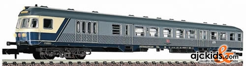 Fleischmann 8140 Local control-cab coach 2nd class with luggage compartment, type BDnrzf.740 of the DB AG
