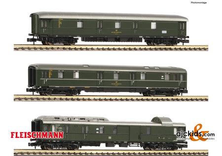 Fleischmann 814509 - 3 piece set mail train