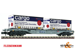 Fleischmann 825209 - Container carrier wagon