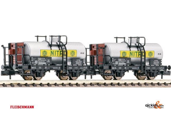 Fleischmann 843702 Set: tank wagons NITAG BRIT-US-ZONE