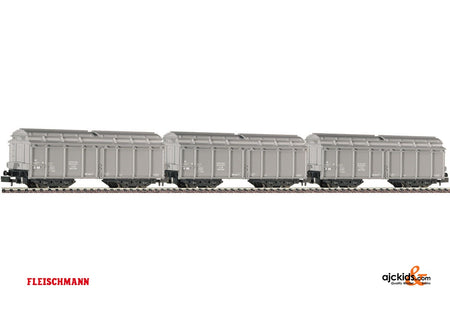 Fleischmann 845201 Garbage wagon grey NS