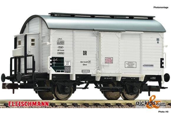 Fleischmann 845712 - Boxcar loaded with wine barrel