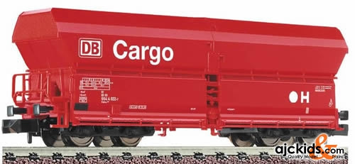 Fleischmann 8523 High-capacity self unloading hopper wagon in traffic red livery