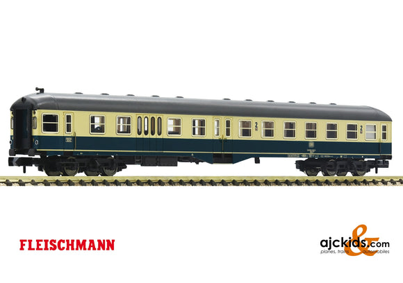 Fleischmann 866487 - 2nd class center entry coach with control cab and baggage compartment