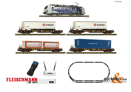 Fleischmann 931891 - z21 digital set: Electric locomotive class 193 and goods train