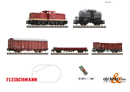 Fleischmann 931892 - z21 start digital set: Diesel locomotive class 110 and goods train