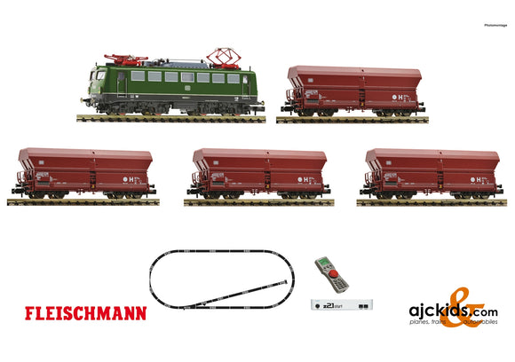 Fleischmann 931895 - z21 start digital set: Electric locomotive class 140 and goods train