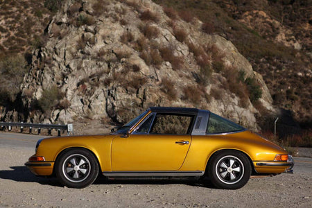 Schuco 450036100 - Porsche 911 S, gold 1:18 (Limited Edition of 911)