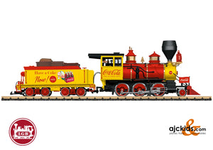 LGB 20282 - Coca Cola® Mogul Steam Locomotive