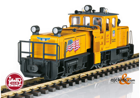 LGB 21672 - USA Track Cleaning Locomotive