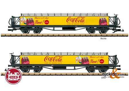 LGB 32356 - Coca-Cola® Observation Car