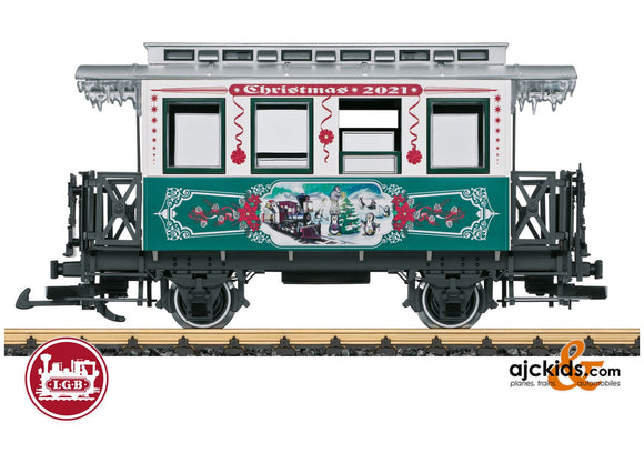 LGB 36021 - Christmas Car for 2021