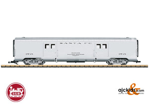 LGB 36579 - Santa Fe Baggage Car