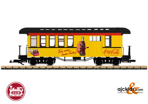 LGB 36818 - Coca Cola® Half Baggage Car