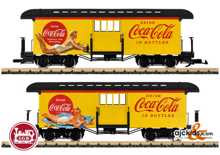 LGB 36847 - Coca Cola® Baggage Car