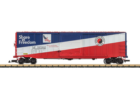 LGB 42937 - Northern Pacific Railway Boxcar (NP)