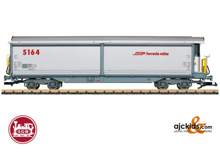 LGB 48574 - Sliding Wall Boxcar with Refrigeration Equipment