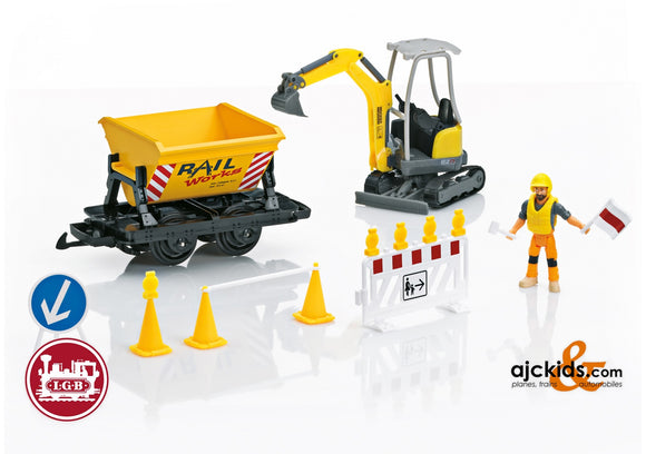 LGB 49501 - Construction Site Extension Set