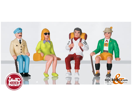 LGB 53007 - Set of Seated Tourist Figures