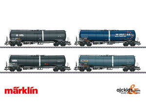 Marklin 00720 - Freight Car Display wi 12 Type Zans and Zacns Tank Cars