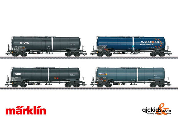 Marklin 00720 - Freight Car Display wi 12 Type Zans and Zacns Tank Cars in H0 Scale