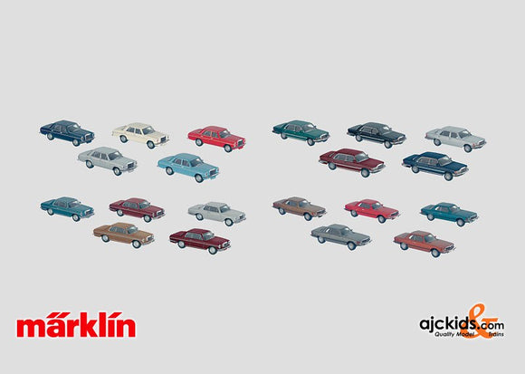 Marklin 00771 - Set with 40 Model Automobiles in H0 Scale