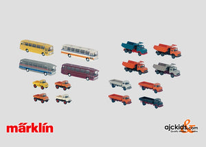 Marklin 00772 - Set with 32 Model Vehicles in H0 Scale