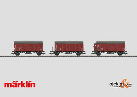 "Marklin 00773 - Display with 20 ""Oppeln"" Freight Cars in H0 Scale"