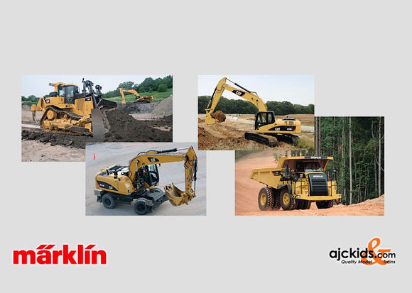 Marklin 00777 - CAT H0 Construction Machinery Sales Package