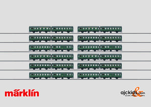 Marklin 00795 - Set with 12 Pairs of Cars Umbauwagen (see 00795-1) in H0 Scale