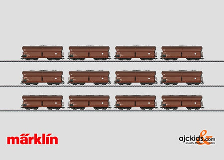 Marklin 00797 - Large set with 12 Type Fad 167 Hopper Cars