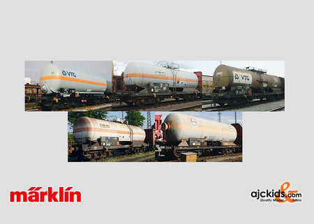 Marklin 00798 - Display with 20 Tank Cars