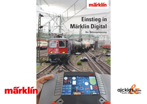 Marklin 03081 - Getting Started in Marklin Digital Book (German) in H0 Scale