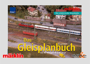 Marklin 07451 - Track Planning Book (English) in H0 Scale