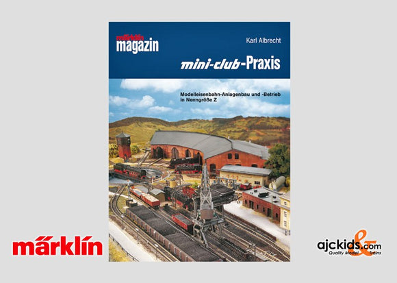 Marklin 07770 - Mini Club Praxis Z scale plan book (German Text)