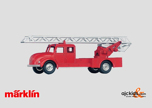 Marklin 18023 - Fire Department Ladder Truck Reproduction in H0 Scale
