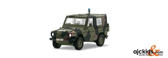 Marklin 18501 - Wolf Military Police Mercedes G in H0 Scale