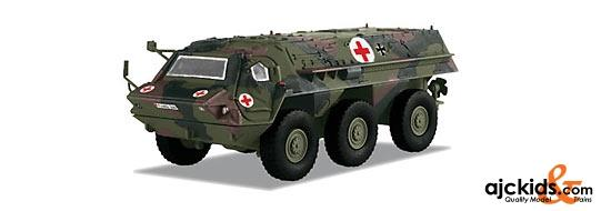 Marklin 18527 - Fuchs Armored Transport Vehicle in H0 Scale