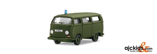 Marklin 18702 - German Federal Army: VW Bus as a Military Police Vehicle in H0 Scale