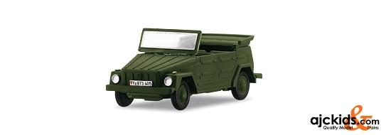 Marklin 18705 - German Federal Army: Open VW 181 in H0 Scale