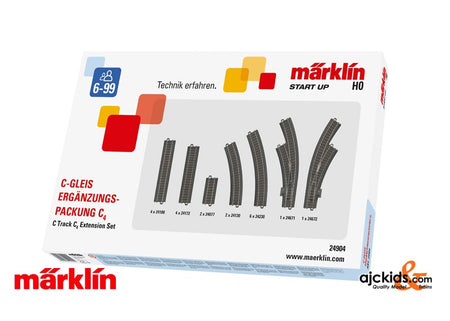 Marklin 24904 - C4 C-Track extension set in H0 Scale