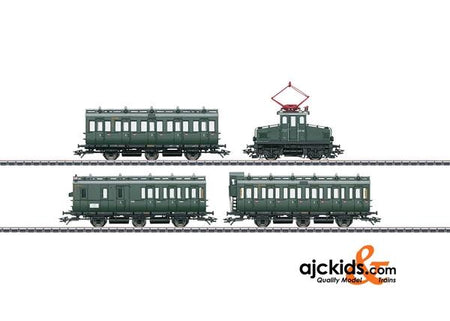 Marklin 26195 - Passenger Train with an E 69 and Compartment Cars