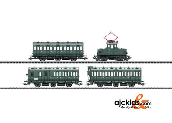 Marklin 26195 - Passenger Train with an E 69 and Compartment Cars in H0 Scale