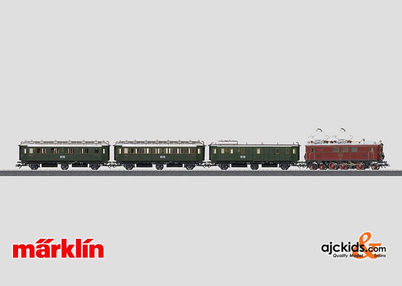 Marklin 26537 - Bavarian Group Administration Passenger Train in H0 Scale