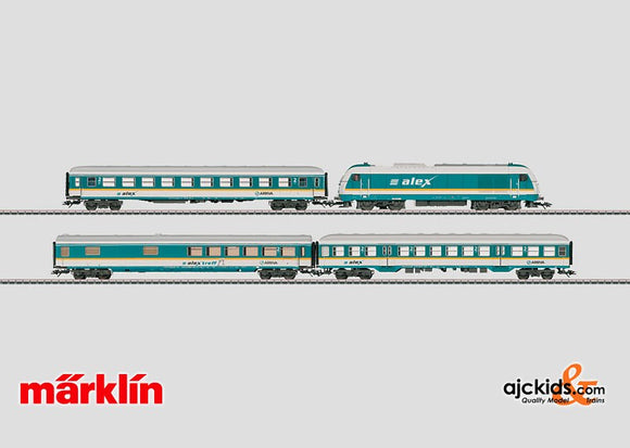Marklin 26552 - Train Set Alex in H0 Scale