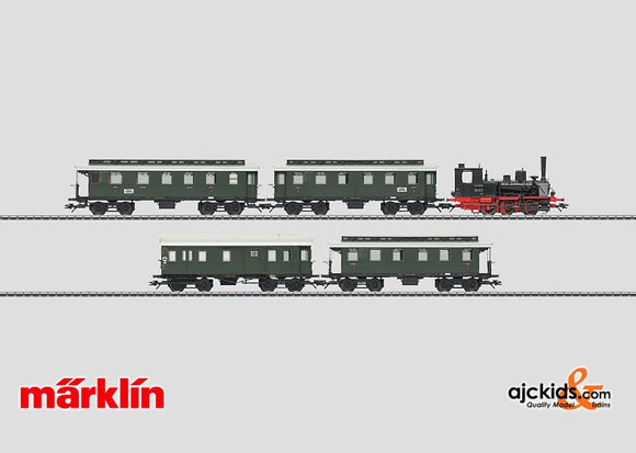 Marklin 26555 - Branch Line Passenger Train Set in H0 Scale